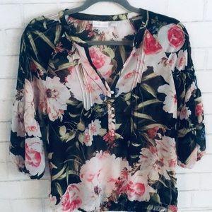 Express flower shirt